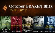 October Brazen Week – Spotlight on Tempting the Boss by Angela Claire