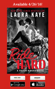 Cover Reveal – Ride Hard by Laura Kaye