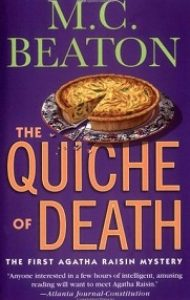 Audiobook Review – Agatha Raisin and the Quiche of Death