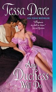 Review – Any  Duchess Will Do by Tessa Dare