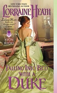 Review – Falling Into Bed With A Duke by Lorraine Heath