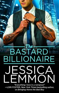 New Release – Bastard Billionaire by Jessica Lemmon