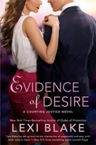 ARC Review – Evidence of Desire by Lexi Blake